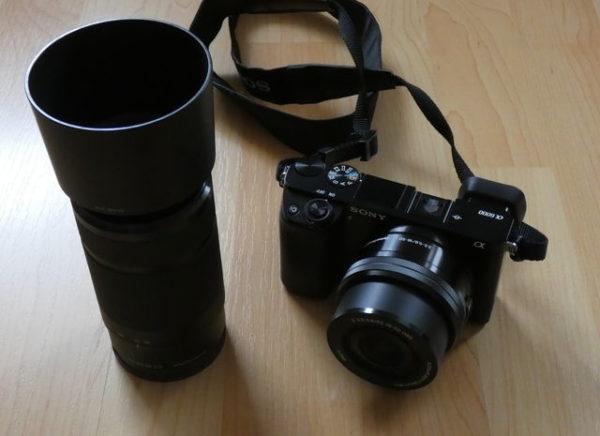 Sony Alpha 6000 und Sony SEL-55210 Tele-Zoom-Objektiv