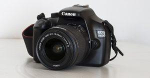 Canon EOS 1100D Spiegelreflexkamera