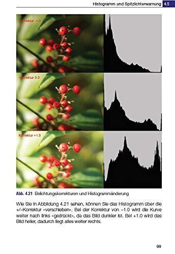 Belichtungskorrekturen und Histogrammänderung