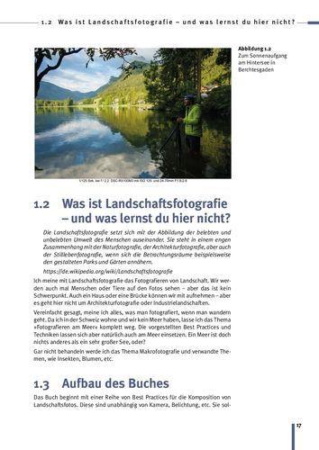 Landschaftsfotografie Tutorial: Trainingsbuch zum Fotografieren lernen Seite 17