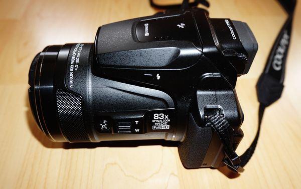Ausstattung der Bridgekamera Nikon Coolpix P900