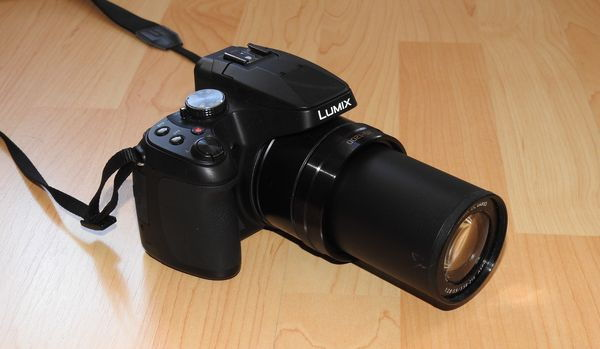 Panasonic Lumix DC-FZ82 Bridgekamera Zoom voll ausgefahren