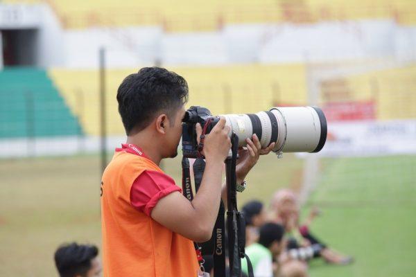 Teleobjektive sind ein Muss in der Sportfotografie