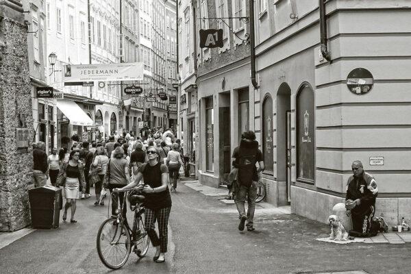 Streetfotografie Menschen in der Stadt
