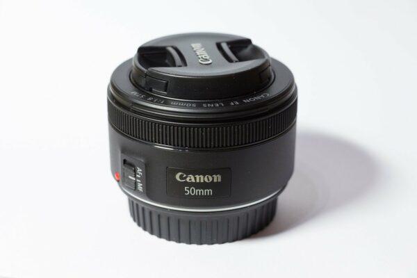 Canon 50 mm Festbrennweite Normalobjektiv