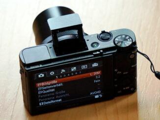Sony Cybershot DSC-RX100 III Kompaktkamera