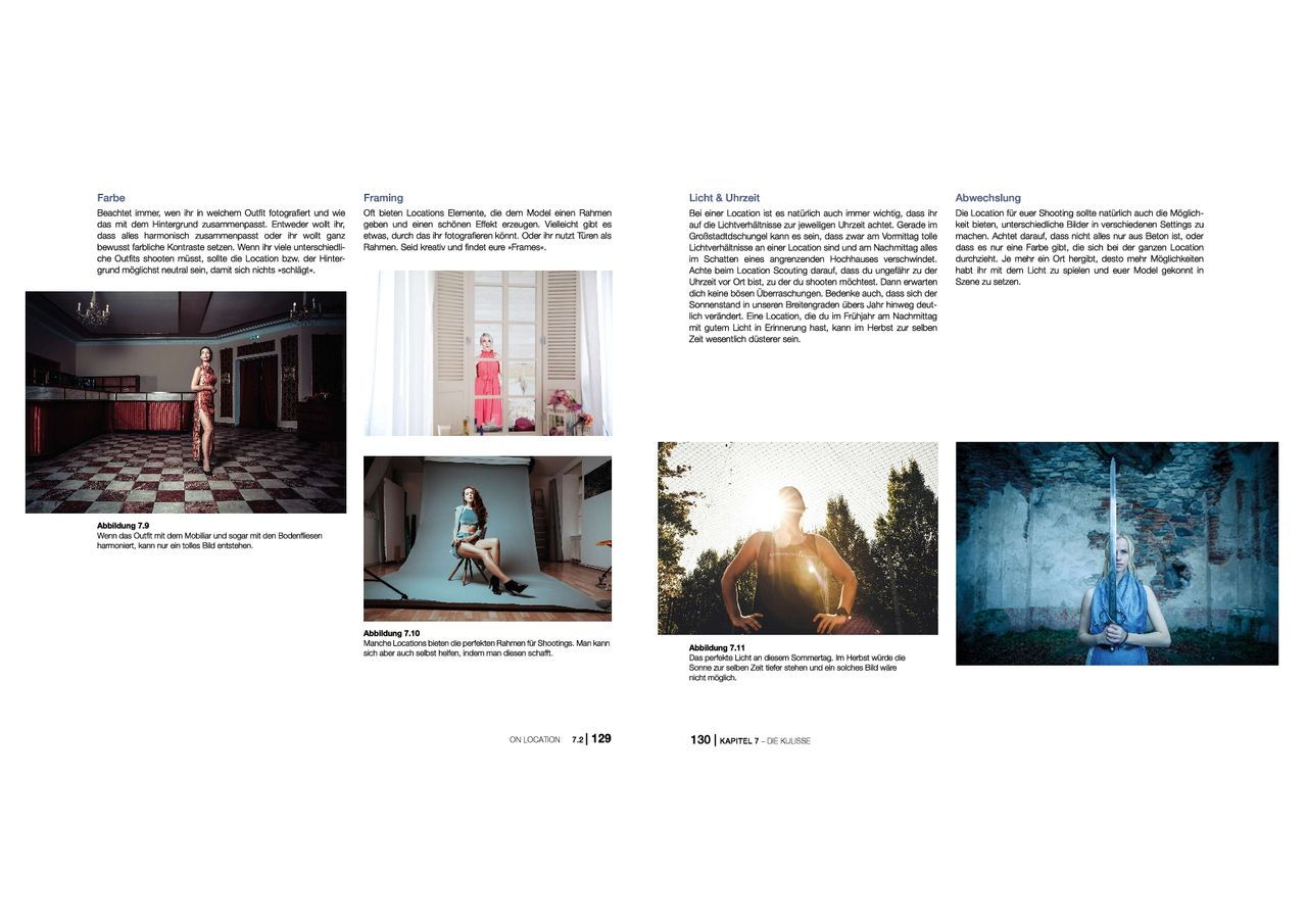 Blick ins Buch 4 Porträtfotografie mitp Edition ProfiFoto