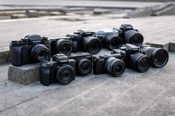 Systemkameras Canon Fujifilm Olympus Nikon