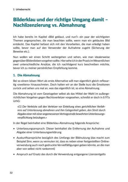 Fotografie und Recht im Fokus 3